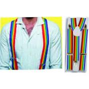 Alexander Costume 52-011-M Suspenders Multi