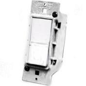 United States Hardware E-119C White Electrical Switch