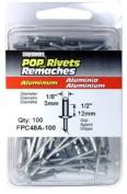 FPC FPC48A-100 Surebonder 100 Pack Long Aluminium Rivet