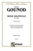 Alfred 00-K06196 GOUNOD MESSE SOLENNELLE ST CECIL