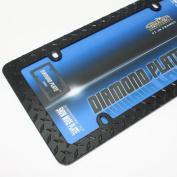 Cruiser Frames Diamond Licence Plate Frame Matte Black