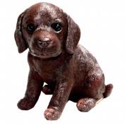 Michael Carr Designs MCD80101 Fudge Chocolate Labrador Puppy Small