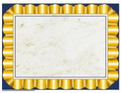 Hayes School Publishing H-VA669 Gold Ribbon Certificate Border Computer Paper