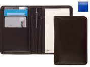 Raika RO 128 BLUE Card Note Case with Pen - Blue