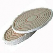 Dico Products 6 Spiral Sewn Buffing Wheel 527-40-6