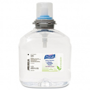 Go-Jo Industries 539102EA TFX Green Certified Instant Hand Sanitizer Foam Refill 1200mL Clear