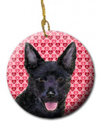 Carolines Treasures SS4498CO1 7.1cm x 7.1cm . Australian Kelpie Ceramic Ornament