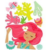 Wallies 13731 Mermaid Big Wall Sticker