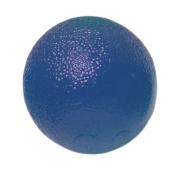Fabrication Enterprises 10-1494 CanDo Gel Squeeze Ball Standard Circular Blue - Heavy