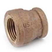 Anderson Metal 738119-1206 Brass Reducing Coupling .75 x .90cm .