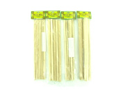 assorted wood dowel sticks -assorted sizes - Pack of 24