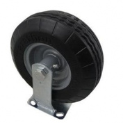 Marathon Industries 00315 20cm . Rigid Caster with Flat-Free Tyre