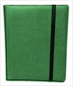 Legion Supplies BN9DHG Binder 9 Pocket Elder Dragon Hide Green