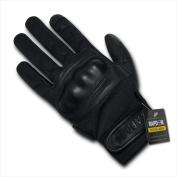 RapDom T40-PL-BLK-04 Nomex Knuckle Glove - Black Extra Large
