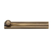 Baldwin 9BR7022-006 10cm . Surface Bolt in Matte Brass and Black