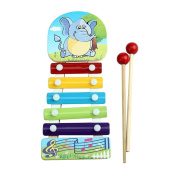 Yoyorule Baby Kid Musical Toys Xylophone Wisdom Development Wooden Instrument