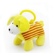 Kseey Jungle Pals Baby Kids Dolls Pullstring Vibrating Mooing Multifunction Educational Toys Dog