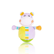 Kseey Music Jungle Pals Hippo Music Tumbler Toy Tilting Toy Roly-poly Baby Toy Baby Kids Dolls