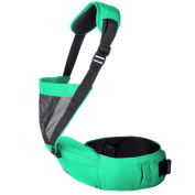Niyatree Baby Carrier For Outdoor Fashion Comfort Baby Waist Stool-Green