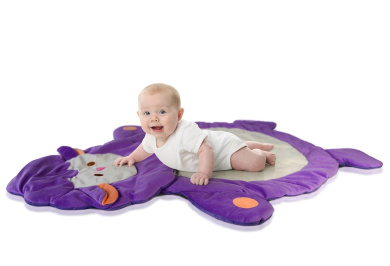 Lil' Jumbl Colourful Animal-Shaped Play Mat for Baby & Toddler - Sheep