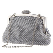 TOPCHANCES Ladies Evening Party Cross Body Handbag Clutch Bridal Purse