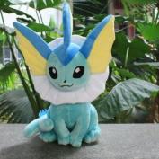 "Large size Vaporeon Pokemon Cute Soft Plush Toy Doll Kids Gift New 37CM 14.50"""