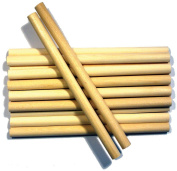 Wood Craft Dowels 15cm -Natural 1cm 10/Pkg