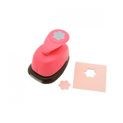 1.6cm inch Flower Shape Lever Action Craft Punch for Paper Crafting Scrapbooking Cards Arts