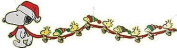 Peanuts Christmas Garland Large Snoopy and Woodstock Banner Decorations
