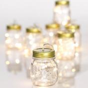 2.3m Mason Jar String Light Garland