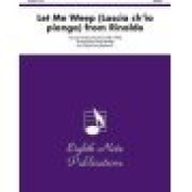 Alfred 81-SH2211 Let Me Weep- Lascia ch io pianga- from Rinaldo - Music Book