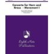 Alfred 81-BQ2077 Concerto for Horn and Brass- Movement I - Music Book