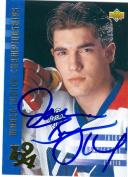 Autograph Warehouse 25007 Jason Bonsignore Autographed Hockey Card Team Usa