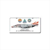 Past Time Signs DP012 F-4B Phantom Ii Aviation Licence Plate