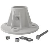 Perma-Cast PF-25 Cycolac Slide Flange - Withuot Hardware