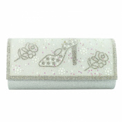 Stiletto and Roses Evening Clutch