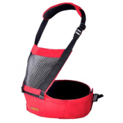 Niyatree Baby Carrier For Outdoor Fashion Comfort Baby Waist Stool-Red