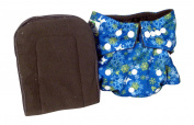 Pandaroos Cloth Pocket Nappy Cover with 5 Layer Charcoal Bamboo Insert