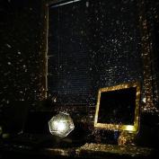 E Support DIY Romantic Four Seasons Star Sky Projector Lights Nightlight Science Lamp Universe Projection Lamp