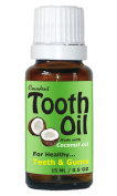 Coconut Oil Peppermint Spearmint Arnica Tooth Oil for Healthy Teeth and Gums