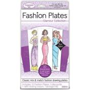 Fashion Plates Kit, Glamour