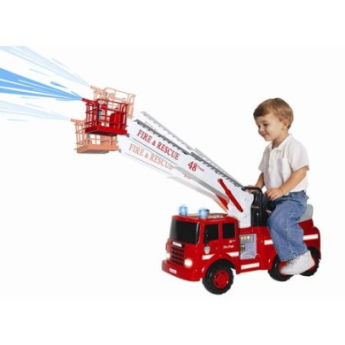 Skyteam Technology Ride-On Action Fire Engine