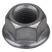 Sunlite Hub Axle Nut Rust-Shield 3/8X26T Flanged Grey Bg/50