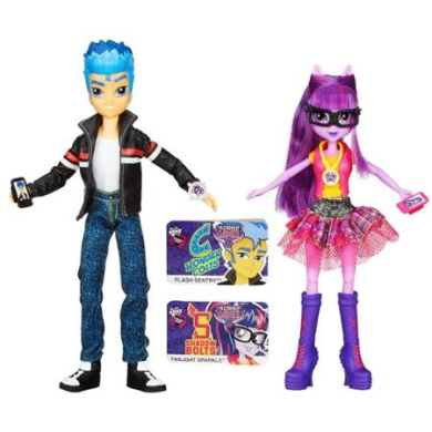 My Little Pony Equestria Girls Flash Sentry and Twilight Sparkle 2-Pack by My Little Pony Equestria Girls