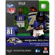 NFL Baltimore Ravens NFL Generation 1 2012 Season Anquan Boldin Minifigure