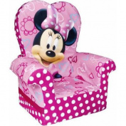 Marshmallow High Back Chair, Minnie Mouse's Bow-Tique