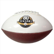 Licenced Products Mini Steelers 80th Anniversary White Panel Football
