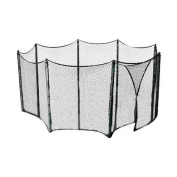 Upper Bounce Trampoline Universal Net for Multiple Shape Frames up to 4m For Straight Pole Enclosure Systems