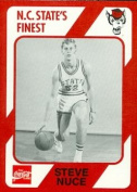 Steve Nuce Basketball Card (N.C. North Carolina State) 1989 Collegiate Collection No.152