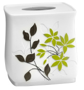 Mayan Leaf Sage Bath Collection - Bathroom Tissue Box Cover